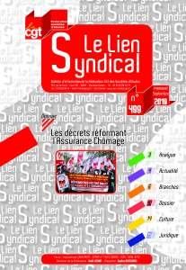 Le lien syndical n°499 – Septembre 2019