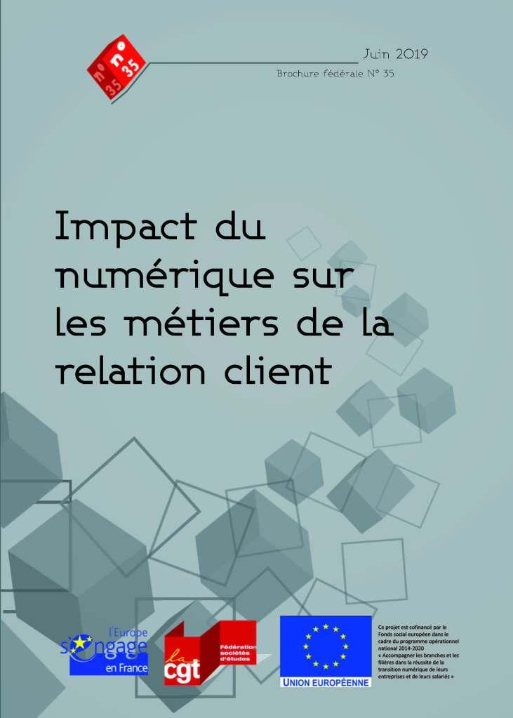 Brochure n°35 : Impact du numérique sur les métiers de la relation client
