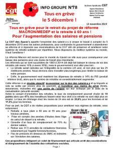 APAVE : Info groupe n°78