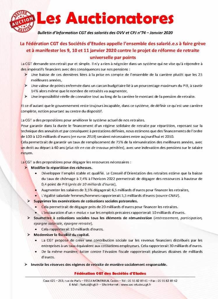 Les Auctionatores n°74