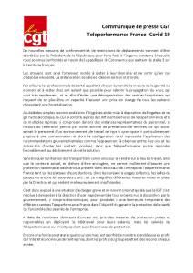 Teleperformance France – Covid 19