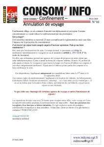 Consom'Info n°10 – Mars 2020