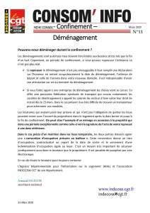 Consom'Info n°11 – Mars 2020