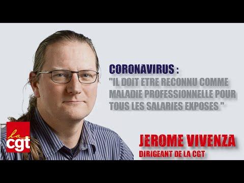 Le CORONAVIRUS, maladie professionnelle, pour les salariés exposés !