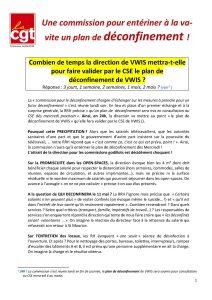 VWIS : Une commission pour entériner à la va-vite un plan de déconfinement !