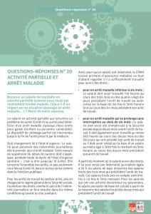 Coronavirus : Questions-réponses n°20