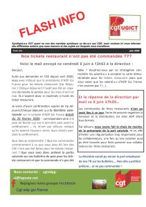 ADP-GSI : Flash info Juin 2020