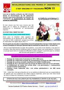 SODEXO : Revalorisations des primes et indemnités, c'est encore et toujours NON !!!