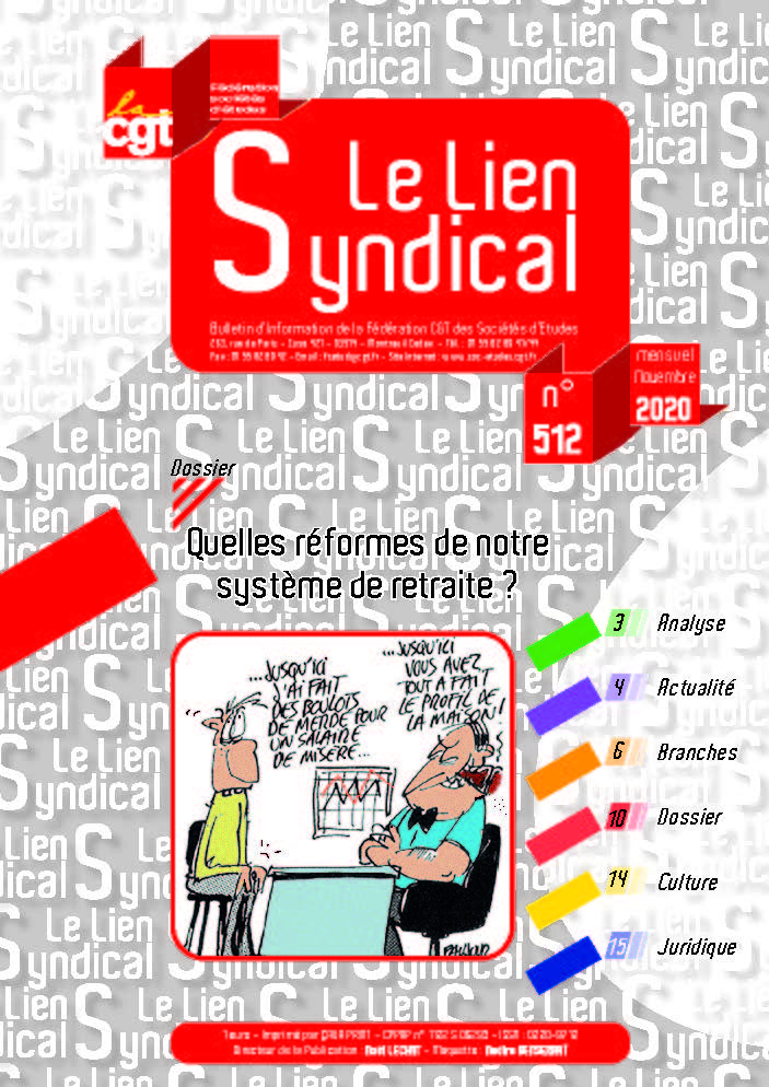Le lien syndical n°512 – Novembre 2020
