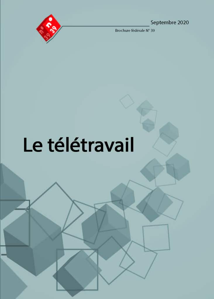 Brochure n°39 : Le télétravail