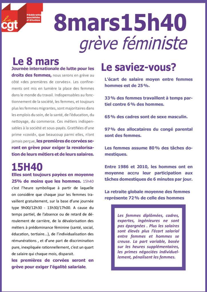 8mars15h40 – grève féministe