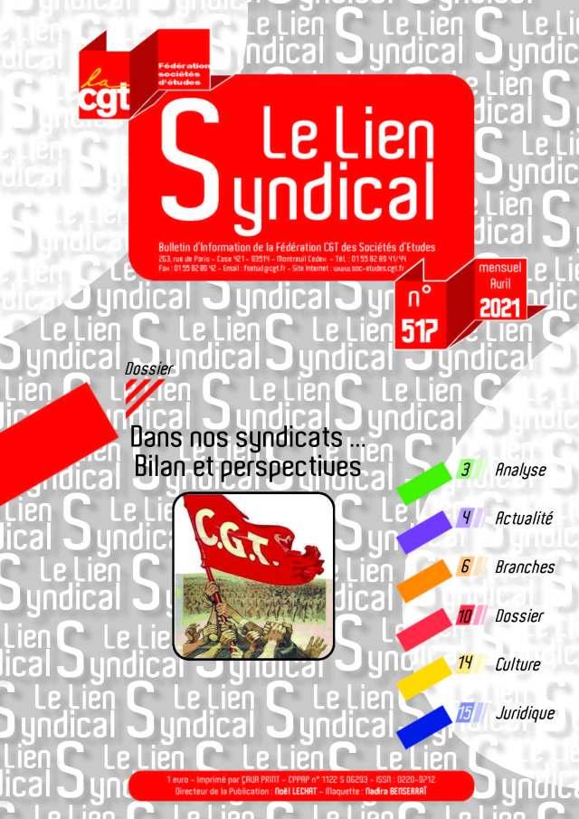 Le lien syndical n°517 – Avril 2021