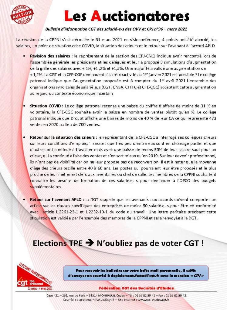 Les Auctionatores n°96