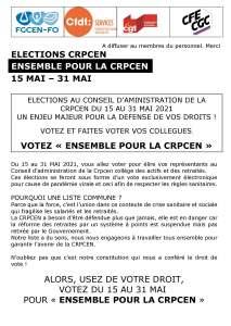 Ensemble pour la CRPCEN – Bulletin n°1