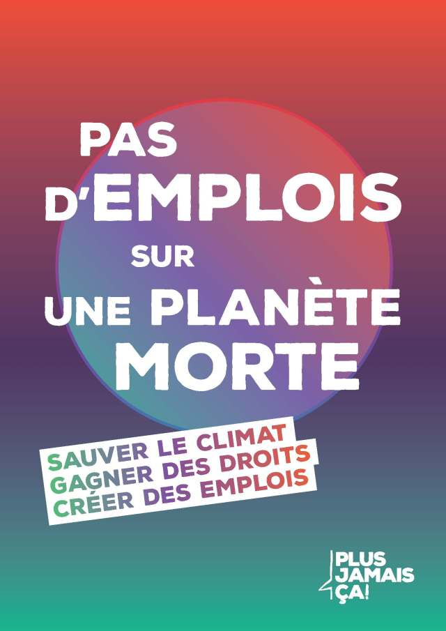 Pas d'emplois sur une planète morte