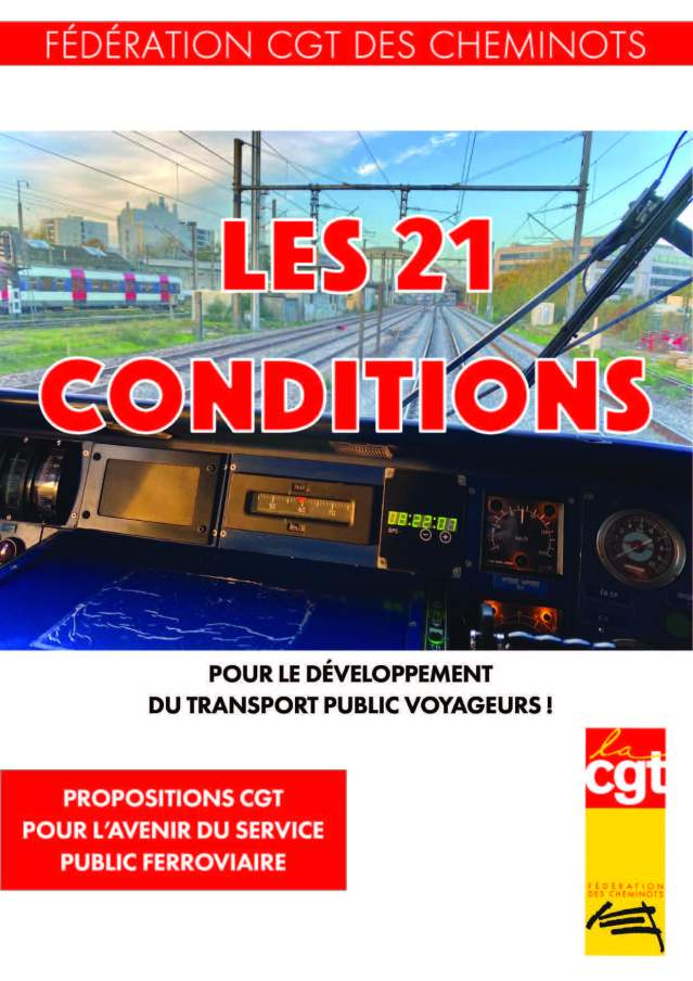 Les 21 conditions pour le développement du transport public voyageurs !