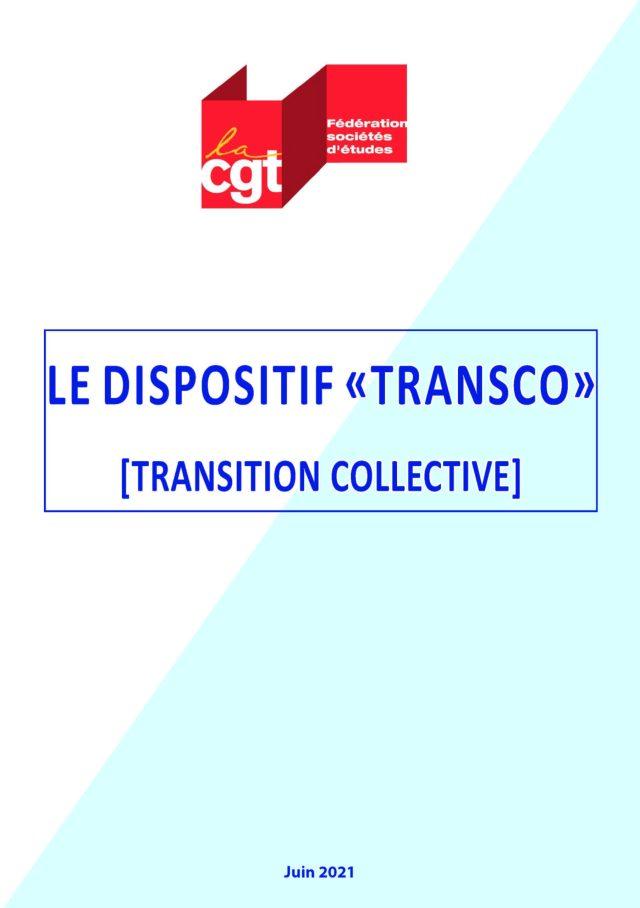 Le dispositif «Transco» [Transition collective]