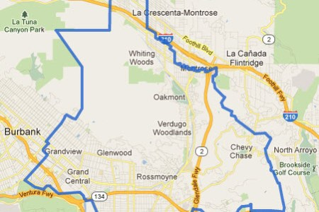 map glendale calif » Free Wallpaper for MAPS | Full Maps