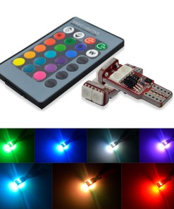 T10 LED Bulbs RGB