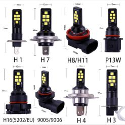 LED Fog Light Bulbs 3030