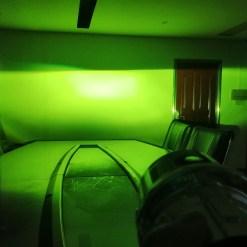 lime green led fog light kit