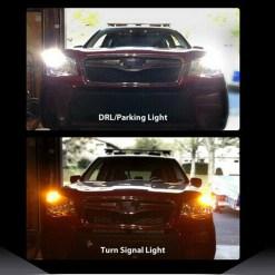 LED Switchback turn signal bulbs