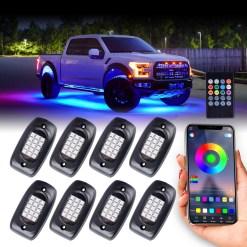 LED Rock Light underglow neon underbody kit