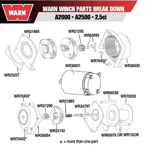 diagram warn winch motor for a2000 a2500 2 5 ci wiring