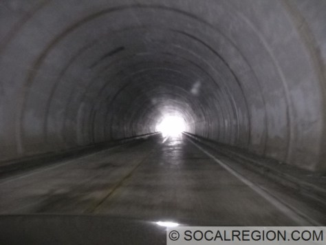Inside the west tunnel