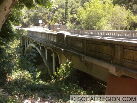 1934 Arch bridge over Topanga Creek near Fernwood.