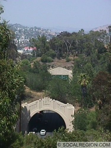 View of two of the NB tunnels from Park Row.