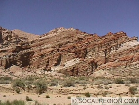 One of the many scenic cliffs in Red Rock Canyon.