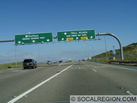 Mainline tolls at Catalina View