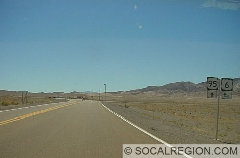 View southbound on US 95 towards the US 6 junction. Photo Courtesy - Joel Windmiller