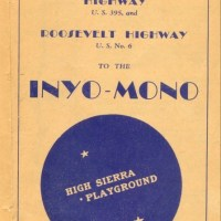 1938 US 6 and US 395 Brochure
