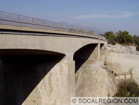 View of the Arroyo Seco Bridge 53-0992