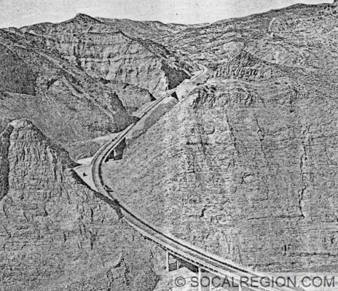 Pyramid Rock just after construction in 1933.