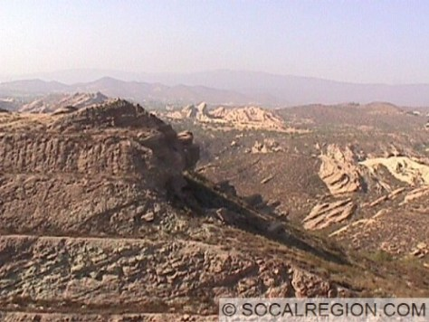 Another view of the Agua Dulce area from above State Hwy 14.