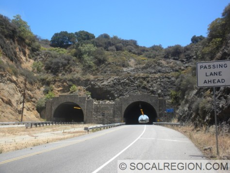 Southern tunnels - T-1. Left (NB) is from 1975, right (SB) is from 1982.