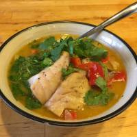 Recipe: Thai Coconut Fish Soup