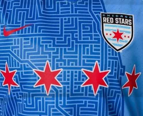 Chicago Red Stars Launch Stunning New 2019 Home Jersey Paying Tribute to the City