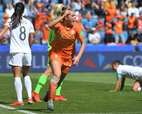 Women's World Cup Recap: Netherlands Leave it Late Against New Zealand as Sweden Snatch Win