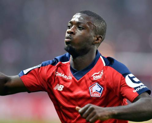 Manchester United Advance Discussions With Lille Over £70m-Rated Nicolas Pepe