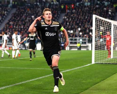 Juventus Officially Announce €75m Signing of Ajax's Matthijs de Ligt