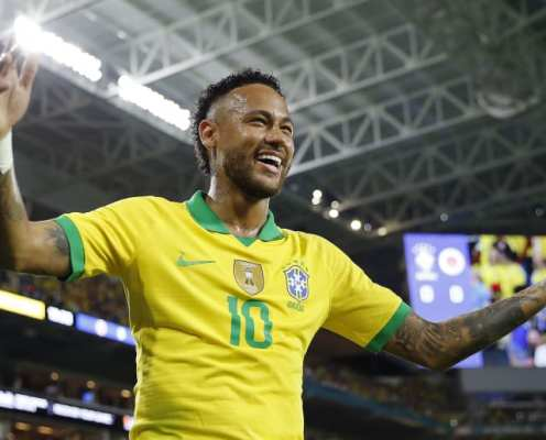 Neymar & the 6 Other Players to Win 100 or More Caps for Brazil