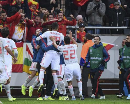Euro 2020 Qualifying Roundup: Spain Reach Next Summer's Finals, ROI Slip Up & Italy Score Five