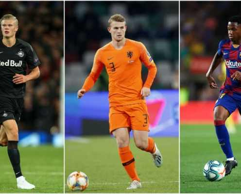 Ranking the Top 10 Players in the Running for the Golden Boy Award 2019