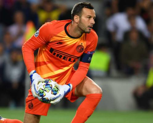 Inter Stalwart Samir Handanović Set to Sign Contract Extension