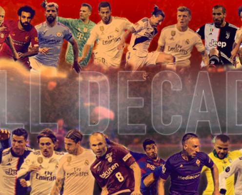 The 20 Best Footballers of the Decade