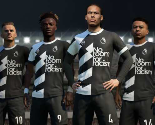 EA Sports Support 'No Room for Racism' Campaign With New FIFA 20 Kit & Badge